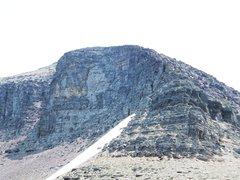 Rock Climbing Photo: Piegan from the Saddle