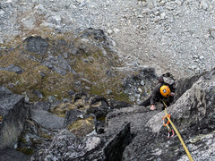 Rock Climbing Photo: Pitch 2 5.10 variation