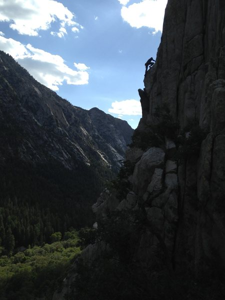 Rock Climbing Photo: What a beautiful challenge! Thanks to Harry Hahn f...
