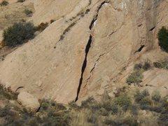 Rock Climbing Photo: North Dallas 40.