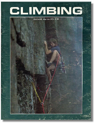 Rock Climbing Photo: Jim Adair.