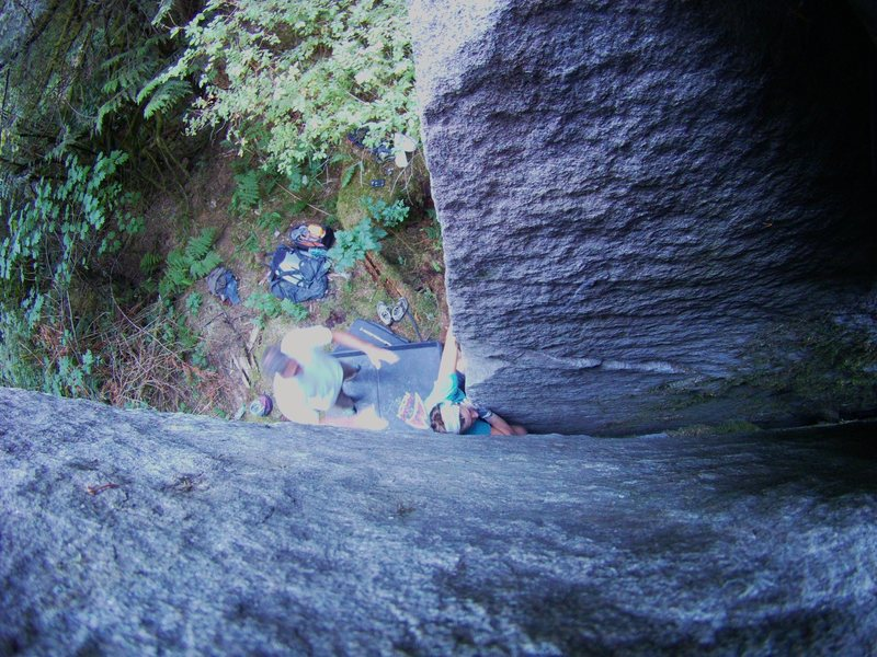 Rock Climbing Photo: Declother