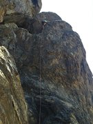 Rock Climbing Photo: You have to 4th class climb way left up to get to ...