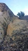 Rock Climbing Photo: P2, harder than it looks