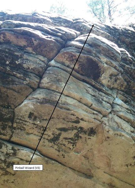 Rock Climbing Photo: Pinball Wizard