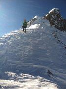 Rock Climbing Photo: Descending Engineer Peak in the San Juans