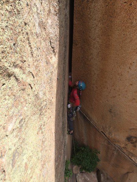 Rock Climbing Photo: Start the business.