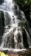 Rock Climbing Photo: Waterfall on Rio Reservoir