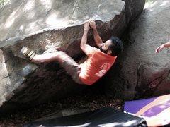 Rock Climbing Photo: bouldering at SOurlands nj