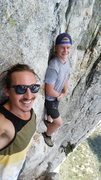 Rock Climbing Photo: the larks