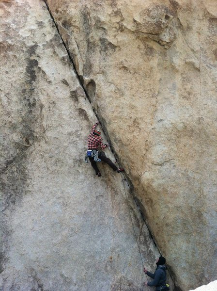 Rock Climbing Photo: left ski