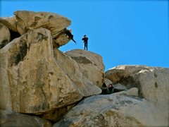 Rock Climbing Photo: geronimo!