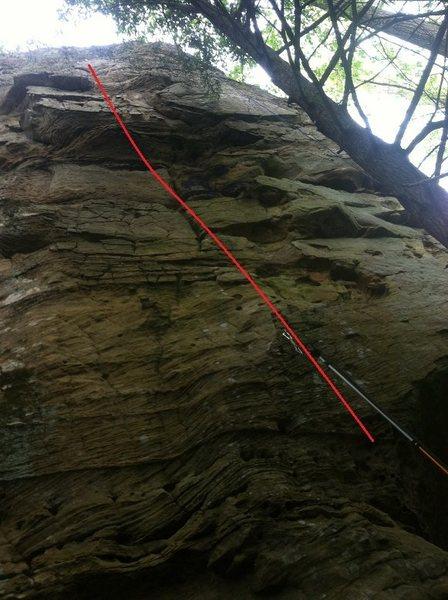 Rock Climbing Photo: Bangerz