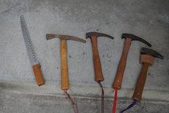 Rock Climbing Photo: 5 Pickaxes ?
