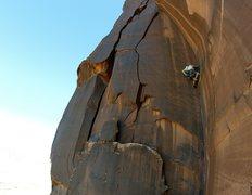 Rock Climbing Photo: Matthew Kleinert on Spaghetti Western