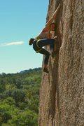 Rock Climbing Photo: Bailey Crawford on PG13