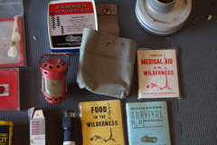 All comes in that little canvas? package, the wilderness survival kit is sealed