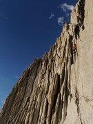 Rock Climbing Photo: Summit pitch