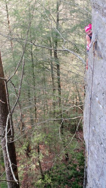 Rock Climbing Photo: Half Mast
