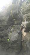 Rock Climbing Photo: Double Bulge.
