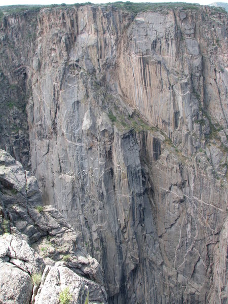 South chasm view wall