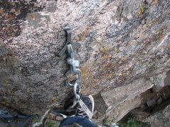 Rock Climbing Photo: The talon claw hook