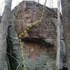 Photo of hedge stone