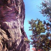 Rock Climbing Photo: Shagg Crag