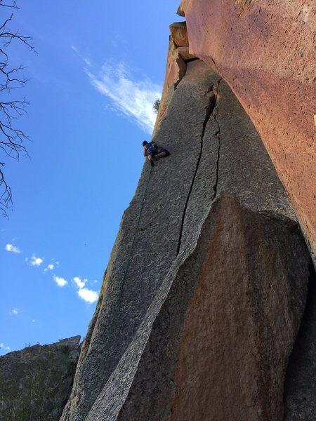 Rock Climbing Photo: The classic 11a Wedding Arête