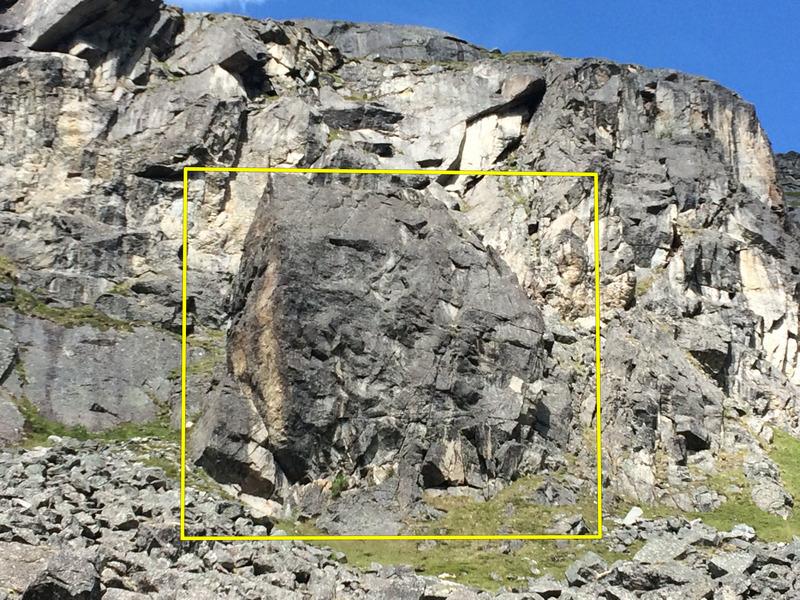 The Barnyard boulder