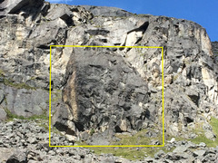 Rock Climbing Photo: The Barnyard boulder