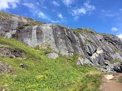 Rock Climbing Photo: Reed Creek Wall