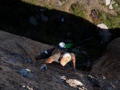 Rock Climbing Photo: CT smuggling grapes