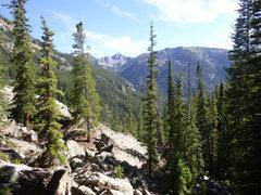 Rock Climbing Photo: Beautiful high altitude cragging.