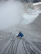 Rock Climbing Photo: Awesome runnels on P14