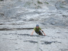 Rock Climbing Photo: Awesome knobs on the first 3 pitches!
