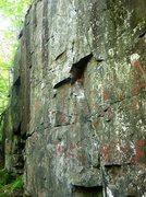 Rock Climbing Photo: The start of Bubba