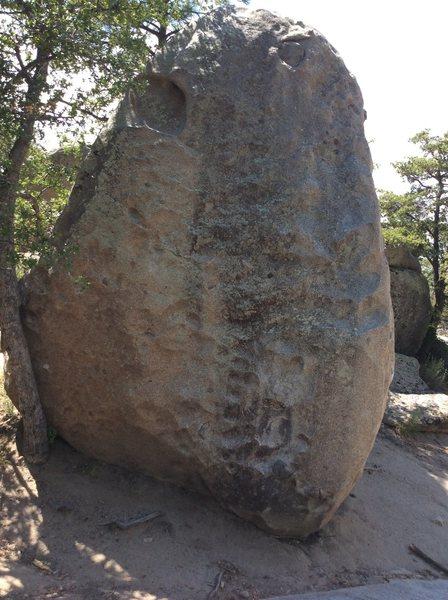 Rock Climbing Photo: The Bolt, V0+