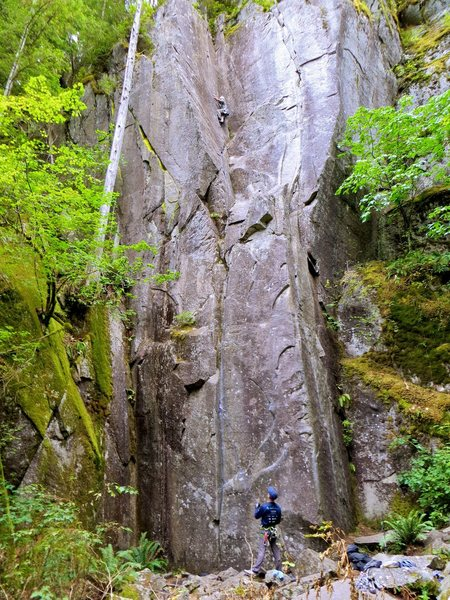 Rock Climbing Photo: JP on Toxic Shock