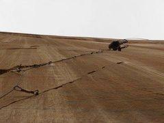 Rock Climbing Photo: steep and thin