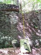 Rock Climbing Photo: Bulldozer Slab uses a few micro crimps to climb th...