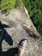 Rock Climbing Photo: Often folks say that they want to climb this line ...
