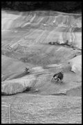 Rock Climbing Photo: Devon leaving the 3rd belay