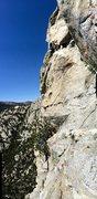 Rock Climbing Photo: Hunter on the War Bonnet Traverse!!!