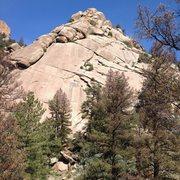 Rock Climbing Photo: Snake Buttress