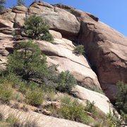 Rock Climbing Photo: The 5.8 again.