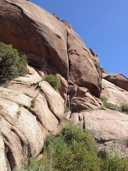 Rock Climbing Photo: The 5.10 again.