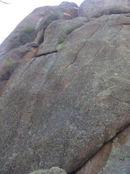 Rock Climbing Photo: Unknown 5.9