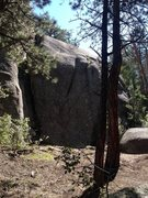 Rock Climbing Photo: Right side of Gnome Dome