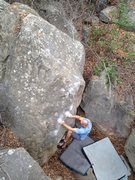 Rock Climbing Photo: Emmett Haggard on McCrae Corner.